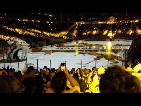 Nashville Predators first ever home Stanley Cup final pregame part 1