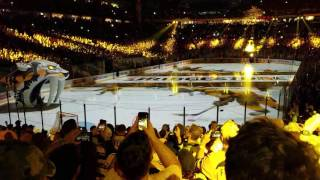 Nashville Predators first ever home Stanley Cup final pregame part 1