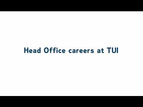 Head Office careers at TUI