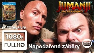 Jumanji: Vítejte v džungli! - Nepodařené záběry CZ HD (z BD a DVD)