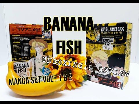 BANANA FISH MANGA BOX SET VOL. 1 & 2 UNBOXING AND REVIEW