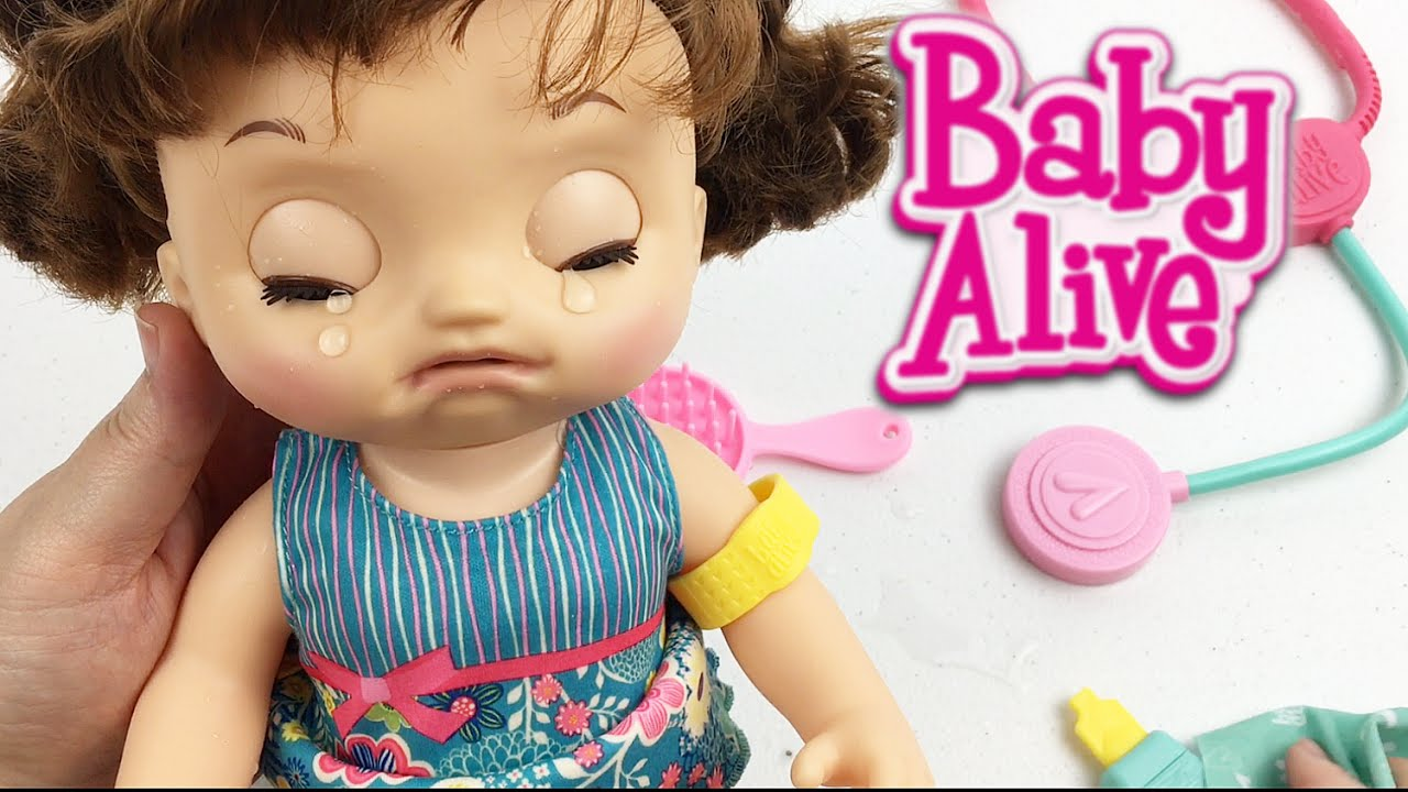 Baby Alive Sweet Tears Baby Doll Unboxing And Peek At Doll