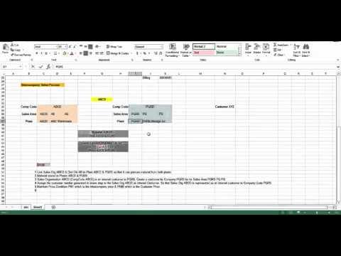 SAP SD Intercompany Sales Part 1
