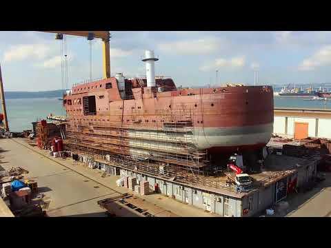 NB57 Wind of Change, Shipbuilding Story Timelapse