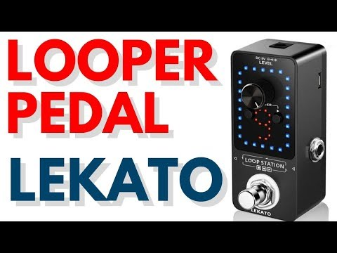 LEKATO Looper Guitar Pedal With Tuner