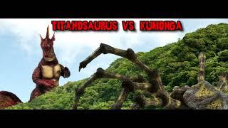 The Committee Reads - Match 118: Titanosaurus vs. Kumonga (Showa)