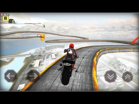 Bike Stunts Extreme Challenge 2019 - Motor Bike Stunts Games - Android Gameplay FHD
