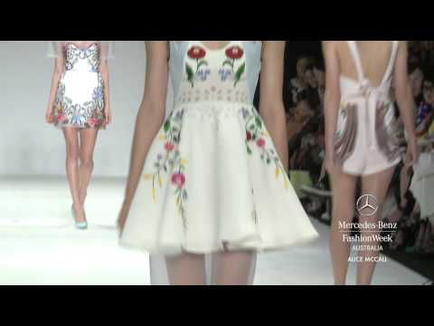 ALICE MCCALL - MERCEDES-BENZ FASHION WEEK AUSTRALIA SPRING SUMMER 2012/13 COLLECTIONS