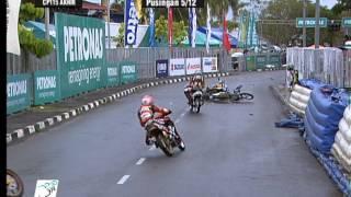 2012 Season: Crash Compilation - PETRONAS AAM Malaysian Cub Prix Championship