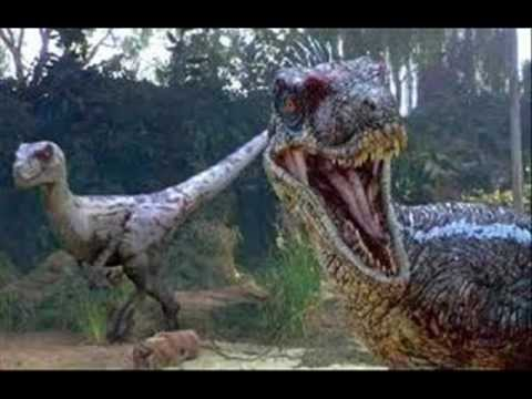 Jurassic Park Dinosaurs - YouTube