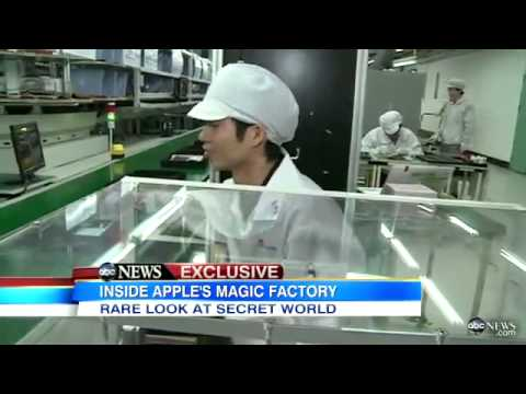 Inside Look At Apple's Chinese Sweatshops!