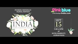 PinkBlueIndia : India Kids Fashion Week Runway Show Invitation