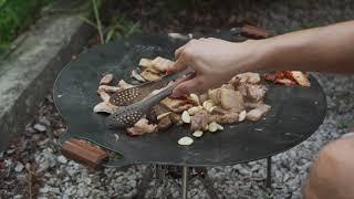그리들 요리(삼겹살 낙지볶음)