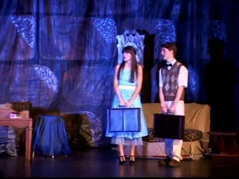 "Minneapolis High School Play ""Werewolf's Curse Hair Today - Gone Tomorrow"" 4/6/2013"