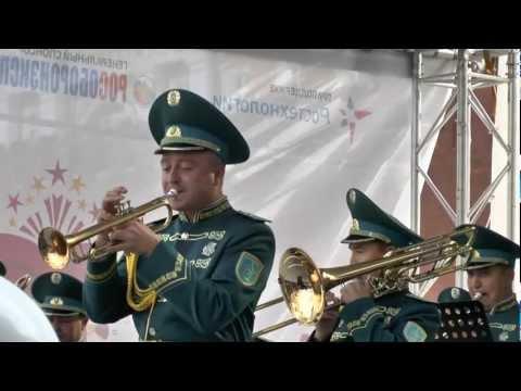 Спасская Башня 2012.Оркестр