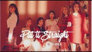 (G)I-DLE - 싫다고 말해 (Put It Straight) (Nightmare Version)   Male Version