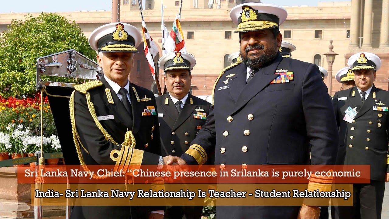 "Sri Lanka Navy Chief: ""Chinese presence in Sri Lanka is"