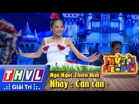 THVL | Thử tài siêu nhí – Tập 9: Nhảy Can can – Ngô Ngọc Thiên Kim