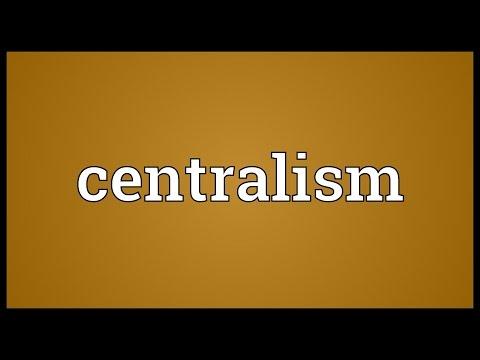 Header of centralism