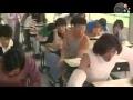 Clip Quay trộm bài trong phòng thi