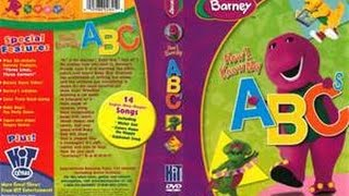barney now i know my abc s dvd menu