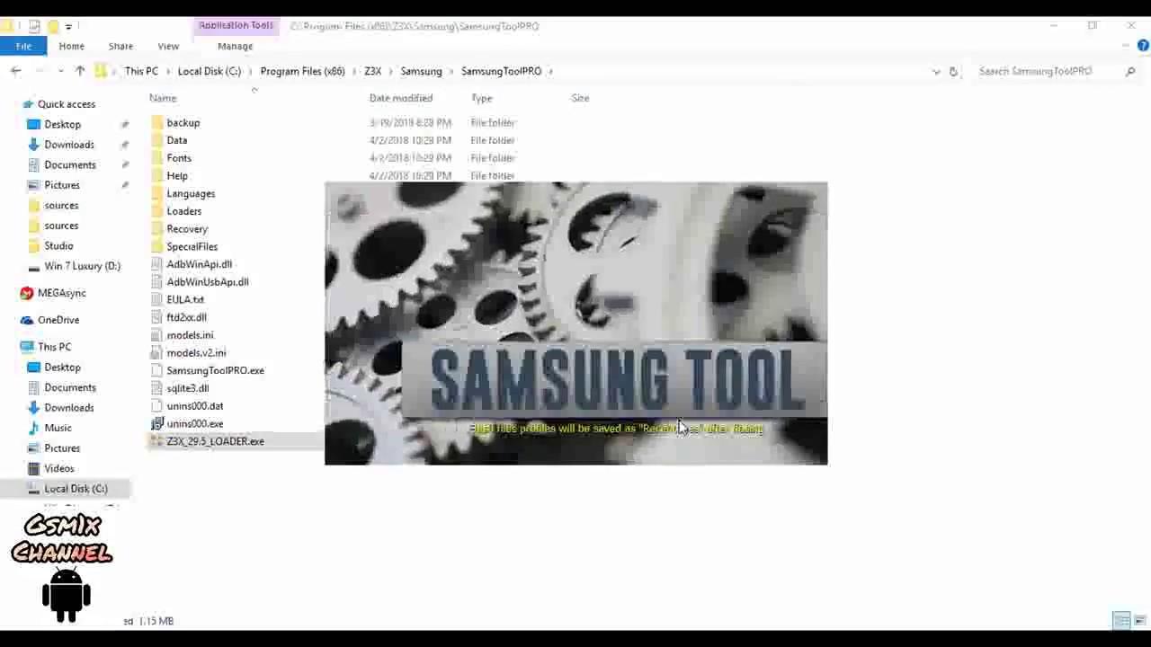 تحميل برنامج z3x samsung tool pro 29.5