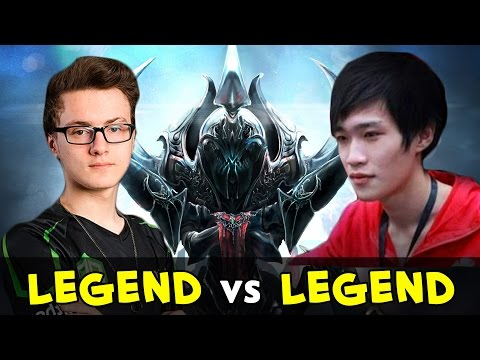 Dota 1 Legend vs Dota 2 Legend — Yaphets vs Miracle mid