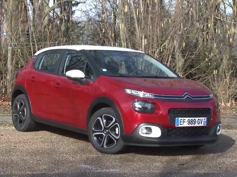 Essai Citroën C3 BlueHDI 100 Feel (2017)