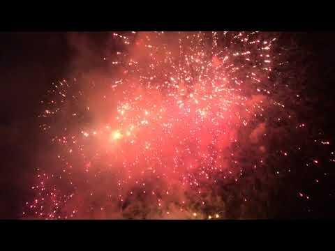 Sydney Australia Day Fireworks 2019