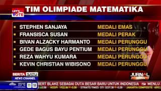 Tim Olimpiade Matematika Raih Enam Medali