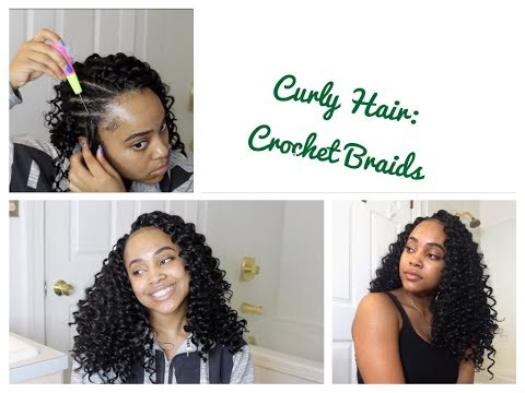 How To Crochet Braids With Curly Hair
