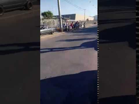 video | mato a un hombre e hirio a un nino en una picada ilegal