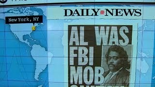 Headlines: Reverend Al Sharpton was allegedly an FBI informer who spied on the mafia