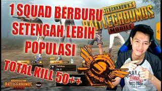 BEBURU TOTAL KILL 50++ DI RANK CONGQUEROR - PUBG MOBILE INDONESIA
