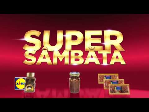 Super Sambata la Lidl • 16 Septembrie 2017