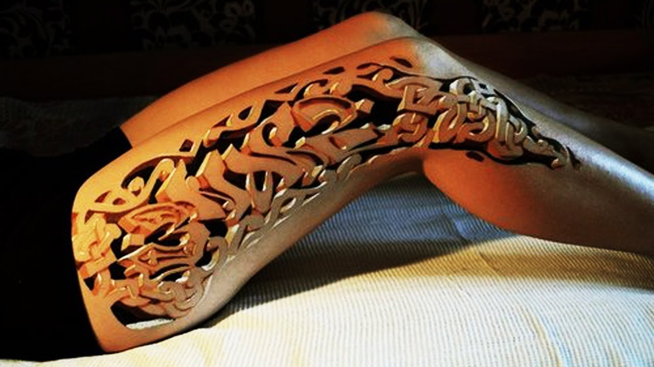 Best 3D Tattoos for Girls Part 1 Amazing 3D Tattoo