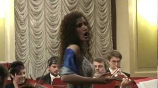 """FIORELLA BURATO performs the beautiful waltz """"IL BACIO"""" by L.ARDITI  ( 1 January 2012 )"""