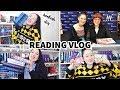 BOOKISH DIY, VE SCHWAB & CUTE BOOKMARKS   Reading Vlog