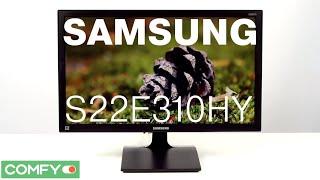 Samsung S22E310HY -  Видеодемонстрация Монитора  Comfy.ua(, 2015-06-11T08:50:18.000Z)