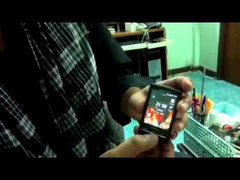 รีวิว Sony Ericsson Xperia X10 Mini (review phone) 1/2