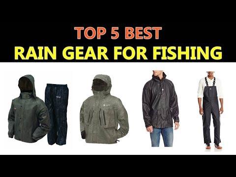 Best Rain Gear for Fishing 2018