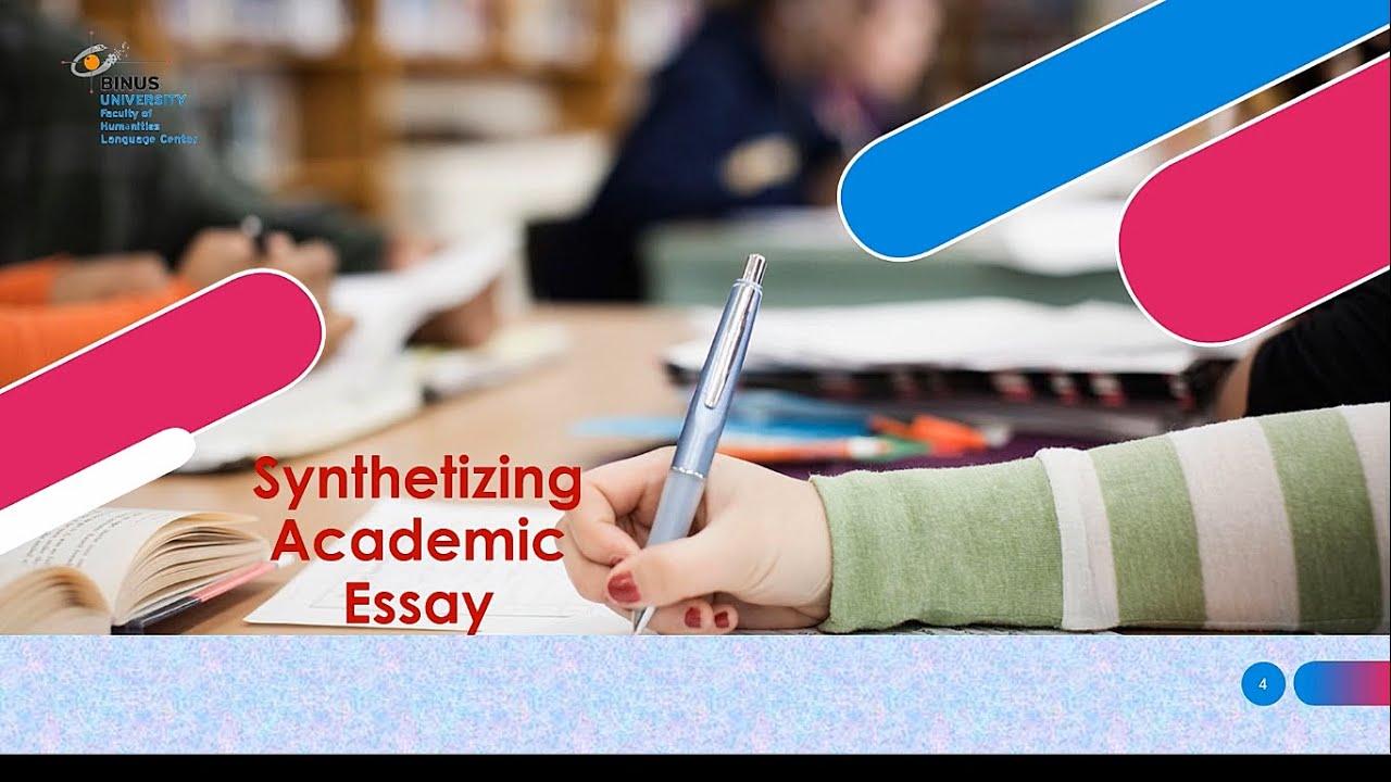Synthetizing Academic Essay