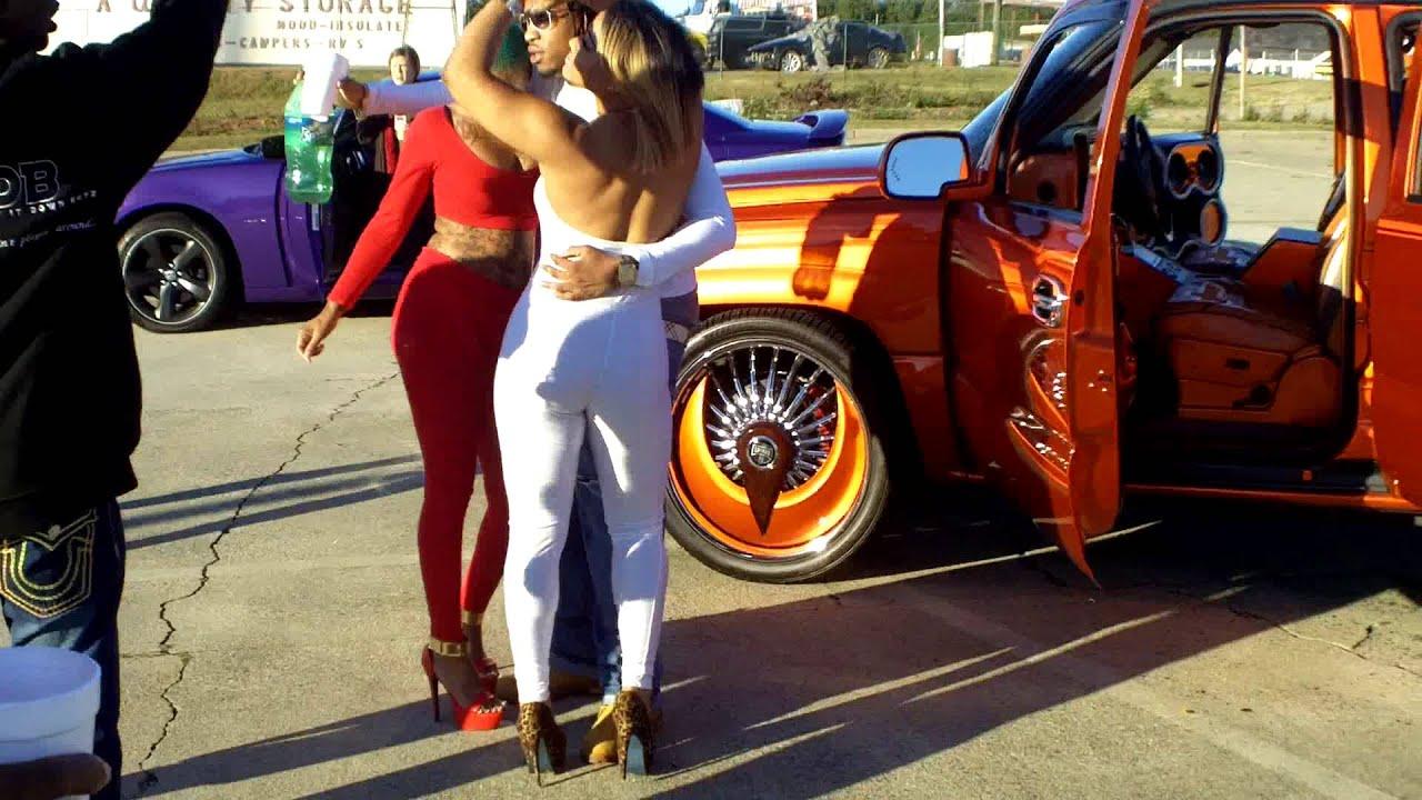 HIP HOP VIDEO SHOOT AT ATLANTA CAR SHOW YouTube - Car show videos