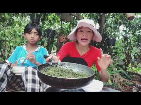 Hướng dẫn cách nấu món lá mì xào, đặc sản của êđê