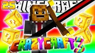 Minecraft CRAZY CRAFT 3.0 - BIG BERTHA FROM LUCKY BLOCKS #25