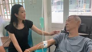 Nghệ sỹ Lê Bình bị hoại tử thân dưới, mệt mỏi hơn những ngày trước