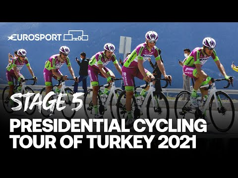 Presidential Cycling Tour of Turkey 2021 - Stage 5 Highlights | Cycling | Eurosport
