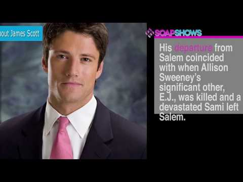 Top 10 Fact About James Scott from Days of Our Lives (DAYS)