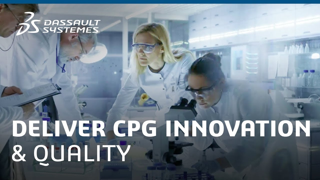 Deliver CPG Innovation and Quality with Confidence - Dassault Systèmes