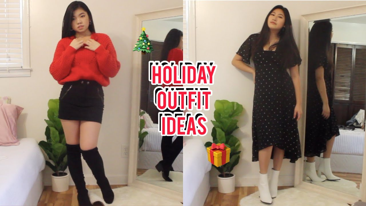 [VIDEO] - Holiday Outfit Ideas 2019 | Lookbook Style 2
